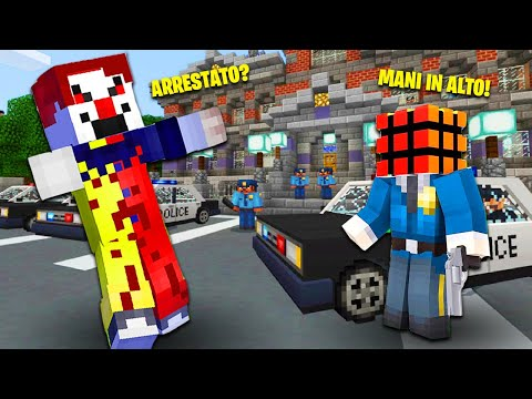 ho-arrestato-it-il-clown-su-minecraft?!-|-vita-in-città