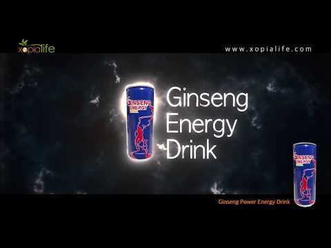 Ginseng Power Energy Drink