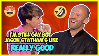 THE MEG CAST WILL CRACK YOU UP (Ruby Rose, Jason Statham, Rainn Wilson)