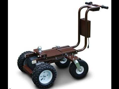Electric Trailer Dolly >> Battery Powered Trailer Dolly Tugger