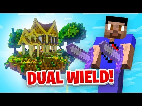 GETTING DUAL WIELD! - Minecraft SKYBLOCK #10