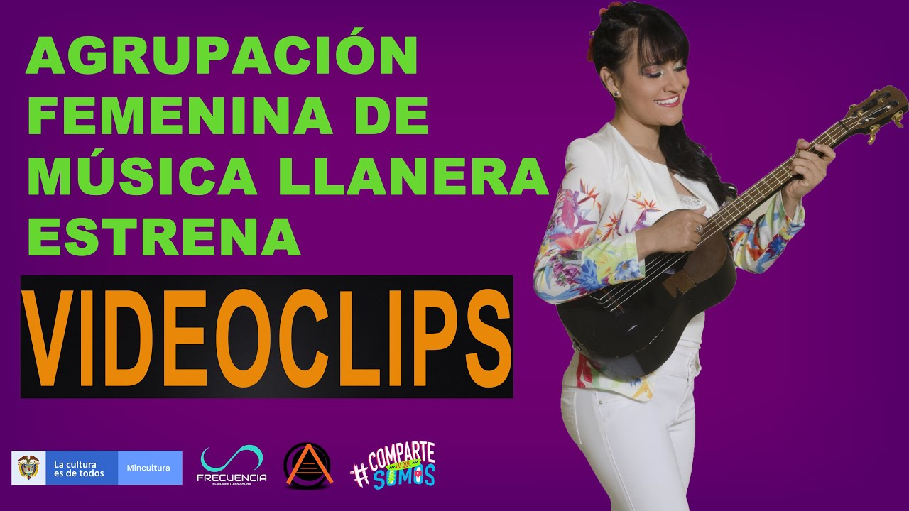 Agrupación femenina de música llanera estrena videoclips