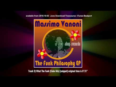 Massimo Vanoni - The Funk Philosophy EP ATPR016 Atop Records.
