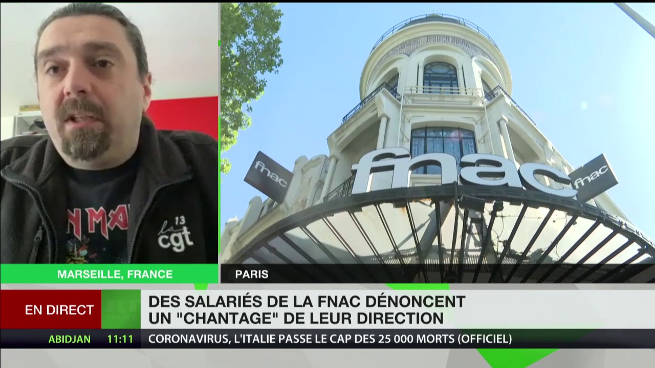 Marc Petrosino commente la colère des salariés Fnac qui dénoncent un «chantage» de leur direction