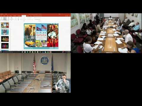 ESD Harlem Community Development Corporation Board Meeting 08/12/2016 9:00 AM