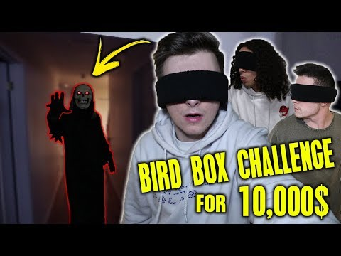 LAST PERSON TO TAKE OFF BLIND FOLD WINS 10,000$ CASH!! (BIRD BOX CHALLENGE) Mp3
