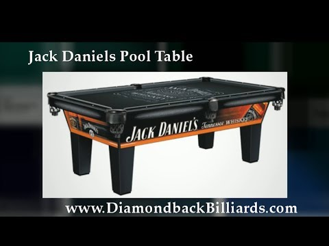 Jack Daniels Pool Table By Olhausen Call For Info YouTube - Jack daniels pool table
