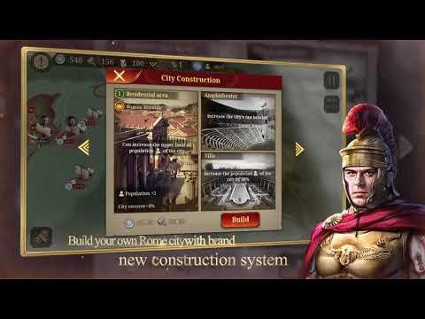 The Trailer Of Great Conqueror : Rome