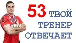 ТТО-53: Денис Борисов, GOB channel, задние дельты, химики и натуралы