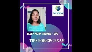 CPC EXAM -Tips# Medical coding Malayalam#Tessycicil