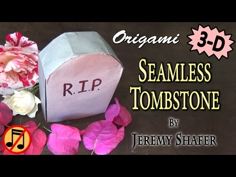 Origami Seamless Tombstone (no music)