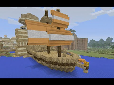Building Stampy's Lovely World [104] - The SS Stumpy Re-Do (Part 2 of 2)