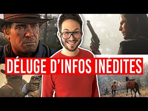 Red Dead Redemption 2, déluge d'infos inédites (histoire, gameplay, open-world...)