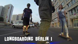 """Longboard Berlin """"City Cruising Session Part 1"""" (Longboarding GoPro HD)"""