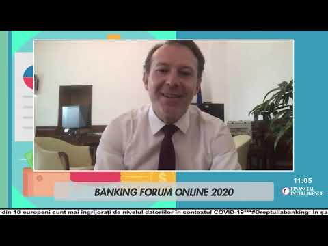 Florin CÎȚU, la Banking Forum Online by Financial Intelligence