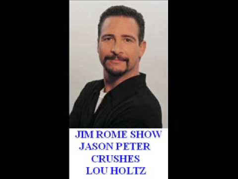 Jim Rome Show - Jason Peter Crushes the Scumbag that is Lou Holtz