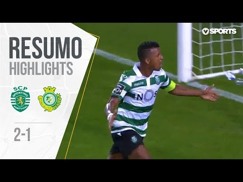 Highlights | Resumo: Sporting 2-1 V. Setúbal (Liga 18/19 #2)