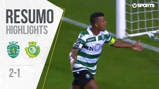 Highlights | Resumo: Sporting 2-1 V. Setbal (Liga 18/19 #2)