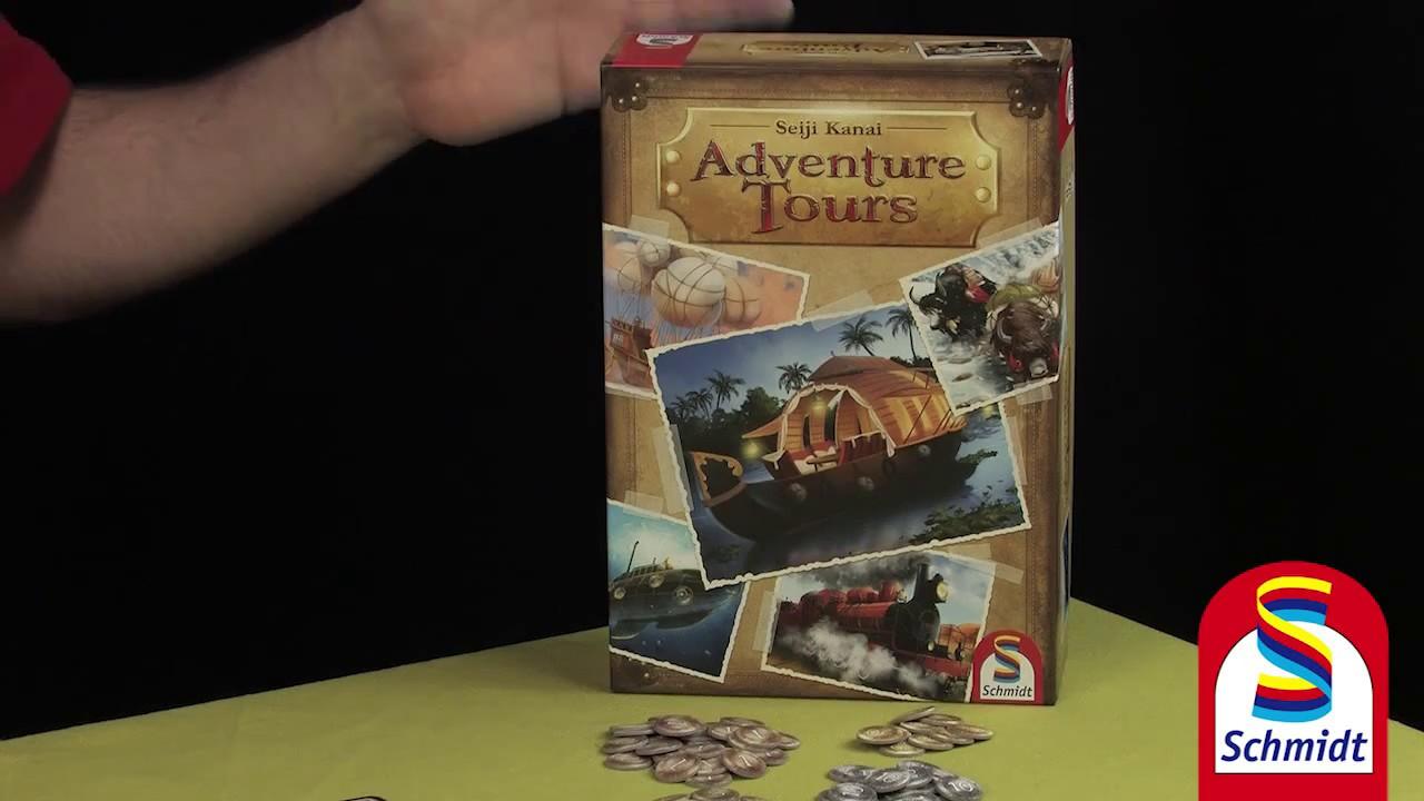 Adventure Tours Schmidt Spiele Erklarvideo Youtube