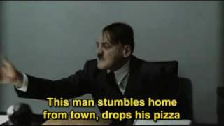 Hitler is informed that Darren is drunk again
