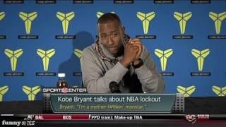 Kobe Bryant on the NBA Lockout