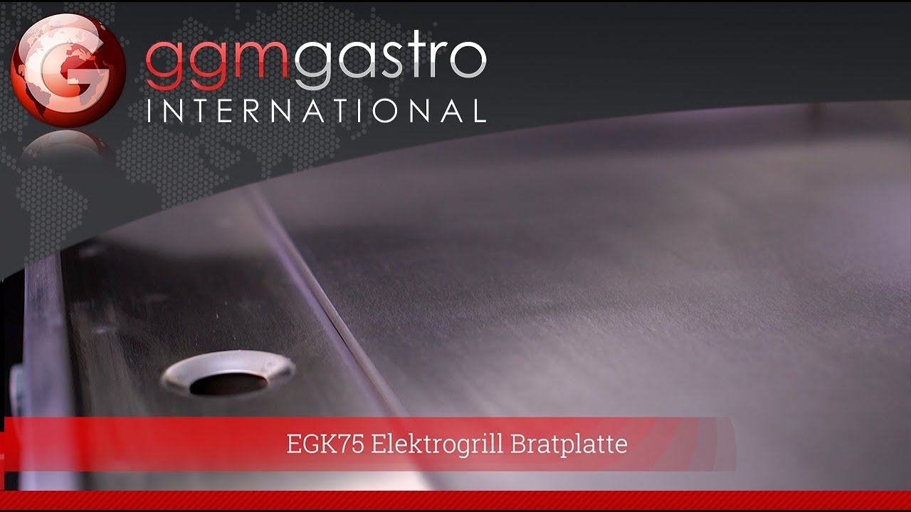 Gastro Elektrogrill Test : Egk elektrogrill bratplatte youtube