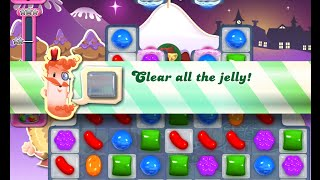 Candy Crush Saga Level 1395 walkthrough (no boosters)