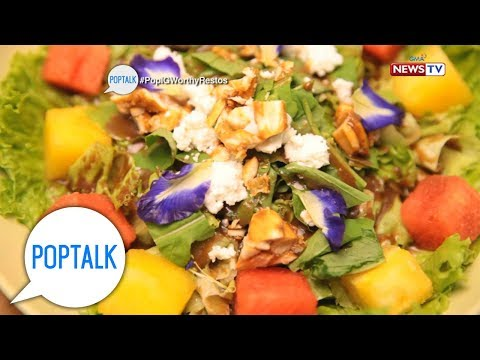 PopTalk: 'Earth Kitchen,' an organic restaurant with a twist
