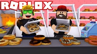 MY OWN DONUTS BAKERY in ROBLOX DONUT FACTORY TYCOON