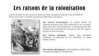 Colonisation – Cm2 – XIXème siècle - Diaporama – TBI