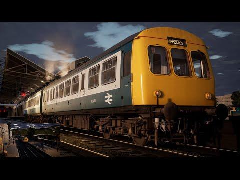 Train Sim World 2 - Northern Transpennine   BR Class 101 - 06:30 Huddersfield to Marsden stopper  