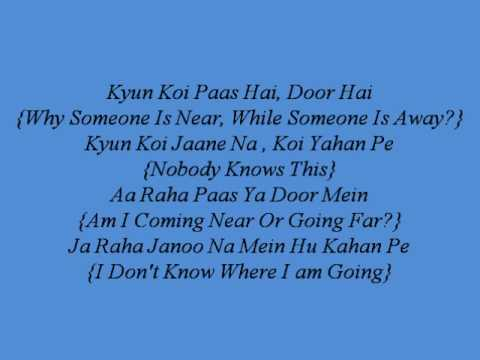 Yeh Dooriyan Lyrics With English Translations - Love Aaj Kal