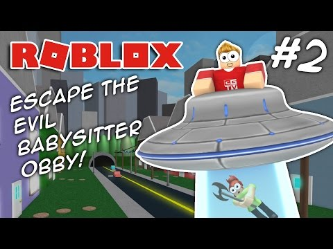 ESCAPE THE EVIL BABYSITTER #2 | Roblox Obby