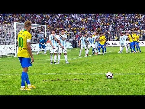 Neymar Jr Smart & Intelligence Plays in Football