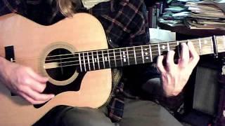 Gordon Lightfoot - Sundown (guitar lesson for rhythm and lead)