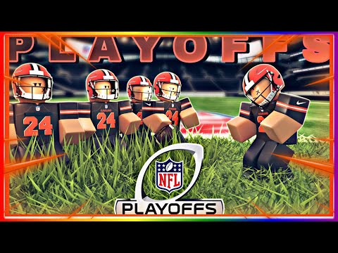 PLAYOFFS Cheifs vs Browns intense game!!! must watch (Roblox Football fusion)