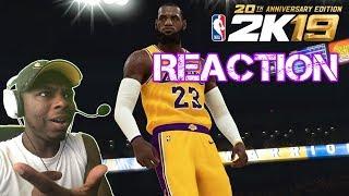 NBA 2K19 Take The Crown Trailer - REACTION