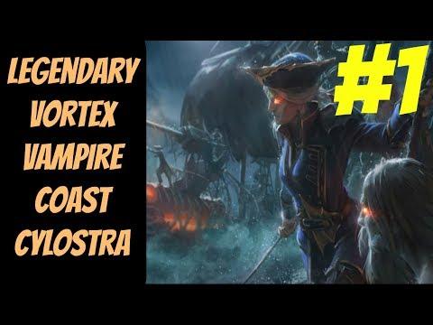 Legendary Vortex Vampire Coast (Cylostra Direfin) #1 -- Total War: Warhammer 2