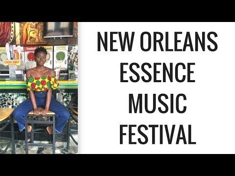 New Orleans VLOG//Essence Music Festival