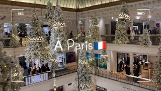 [Paris Vlog]파리에서 크리스마스 홈파티 | 라…