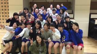 2017桐蔭横浜大学女子ハンドボール部 OG来校 2017.3.19