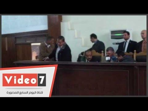 اليوم السابع : بالفيديو..تأجيل محاكمة المتهمين بـ