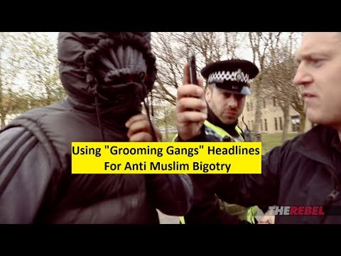 """Britain First: Do Muslims Condemn """"Pakistani Grooming Gangs"""" FAO Jayda Fransen and Paul Golding"""