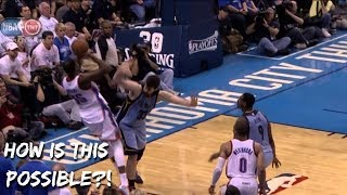 NBA Craziest Circus 3 Pointers Of All Time