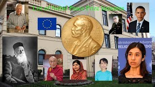 List of Nobel Peace Prize laureates