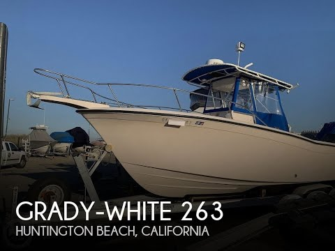Used 1998 Grady-White 263 Chase For Sale In Huntington Beach, California