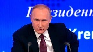 Ежегодная пресс-конференция Президента России Владимира Путина (23.12.2016)