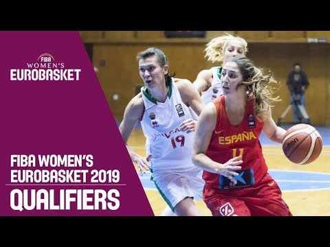 Bulgaria v Spain - Full Game - FIBA Women's EuroBasket 2019 Qualifiers