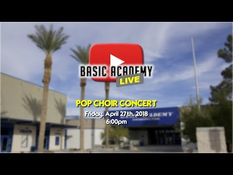 Basic Academy LIVE  - Pop Choir Concert