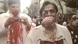 Marcha Zombie Ciudad de México 2011